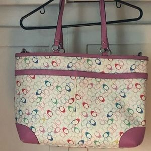 Unisex Coach Diaper Bag Boy or Girl